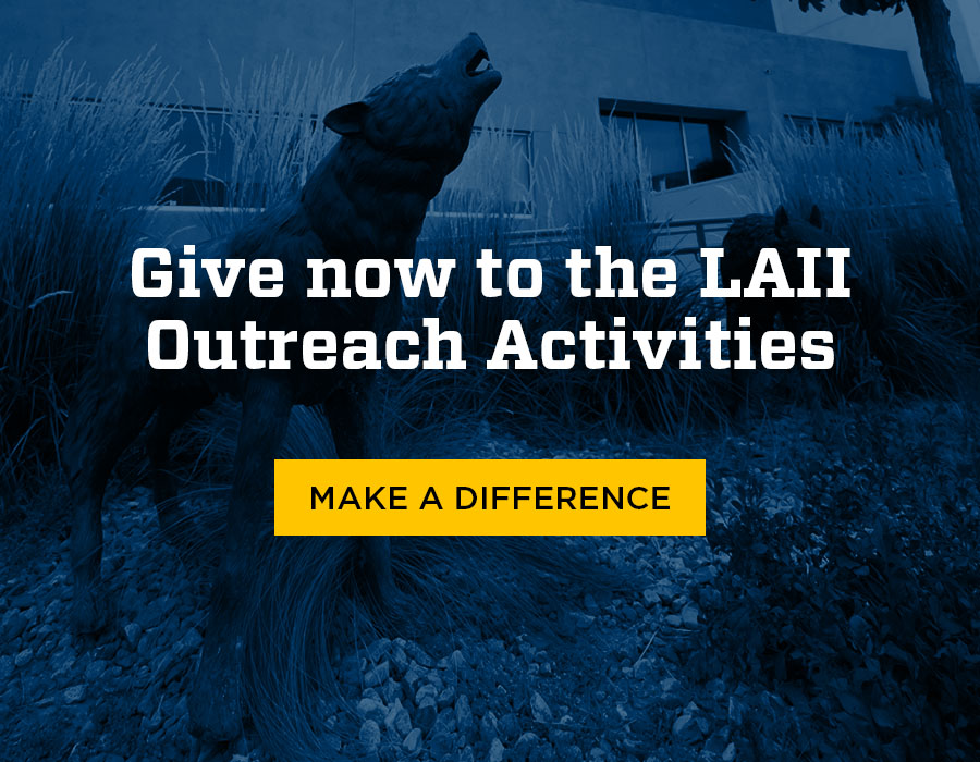 Give now to the LAII Outreach Activities